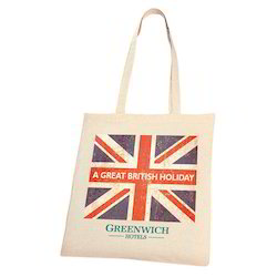 Cotton Shoppers Britiesh Bags