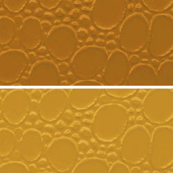 Gold Colored PVC Leather Cloth