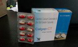 Calcitriol 0.25mg Calcium Carbonate 500mg Zinc Sulphate7.5mg Softgel