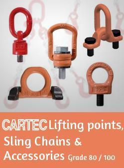Cartec Lifting Points,Sling Chains & Accessories