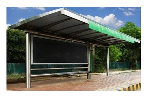 Bus Stop Shelter Fabrication Work