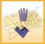 Kevlar / Para Aramid Knitted Seamless Gloves