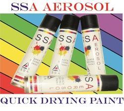aerosol spray paint bottle