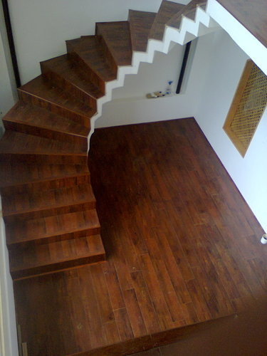 Laminate Wooden Stairs