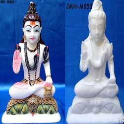 Carved Lord Shiva Statue