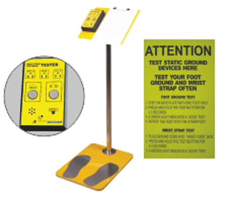 Esd Safety Products Esd Tester Manufacturer From Chandigarh