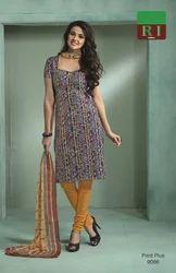 Print Plus V-3 Cotton Dress Material