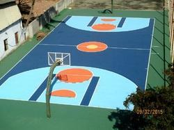 Acrylic Sports Floor