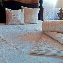 applique work bed covers