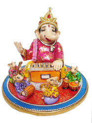 Musician Ganesha with Band