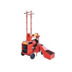Two Leg Builder Hoist With Hydraulic Hopper