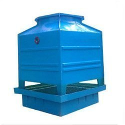 FRP Induced Drought Square Shape Cooling Tower