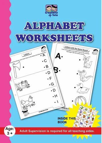Kids Worksheets - Alphabet Worksheet Manufacturer from Navi Mumbai