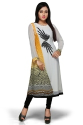Designer Long Party Wear Kurti Tunic