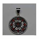 Sterling Silver Ethnic Pendant