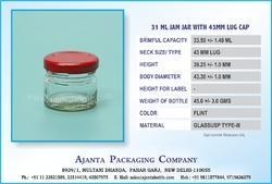 31 ML Jam Jar 43 MM Lug