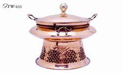 Copper Slim Chaffing Dish