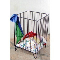 Wrought IronBasket Stand Rack