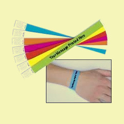 tyvek wristband for events
