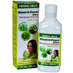 Herbal Wheatgrass Juice
