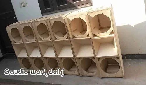 Speakers Cabinet Line Array Empty Cabinet Dual 12