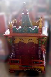 Colorful Wooden Temple