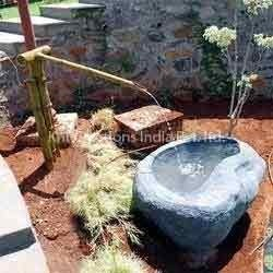 Fiberglass Bamboo Fountain