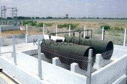 Furnace Oil Tank Installation