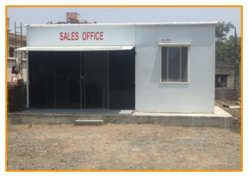 Site Office With Security Shutters