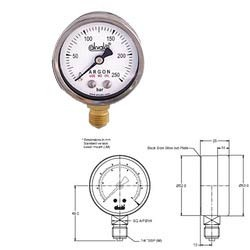 Safety Pressure Gauge (ISO 5171)