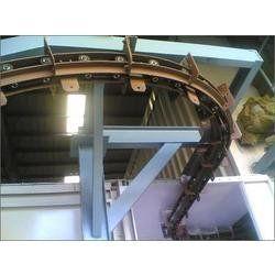 Four Wheel Bi Planar Chain Overhead Conveyor