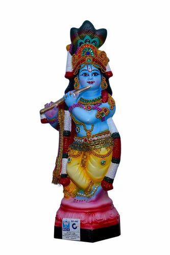 Sri Krishna Poly Marble Idol Iso Certified Sri Mahadev