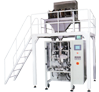 Automatic Servo Control Vertical Pouch Packing Machine with Linear Weigh Filler