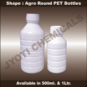 Agro Pesticide PET Bottles