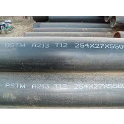 Alloy Steel ASTM/ASME A213 GR. T12 Seamless Pipe