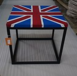 Loft Style Painted Coffee Table