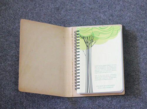 handmade paper diary