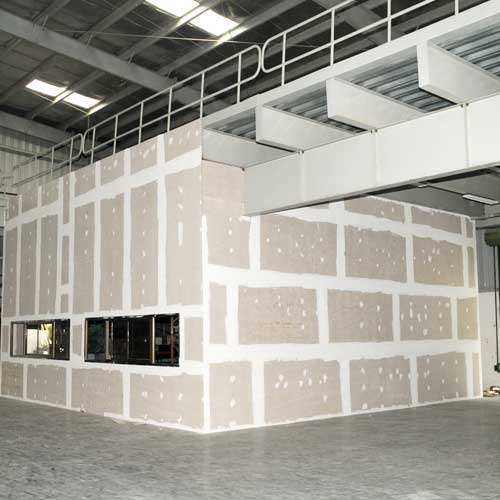 Solid Wall Panel Drywall Partition From Fiber Cement