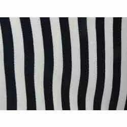 Striped Fabrics Black And White Stripe Fabric Manufacturer From Delhi