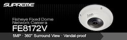 5mp Surround View Vandal- Proof Network Camera