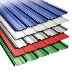 coloured cement corrugated sheets