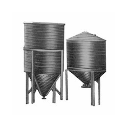 Conical Bottom Spiral Tank