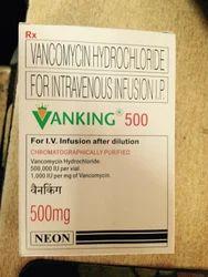 Vanking (Vancomycin)  500 mg Injection