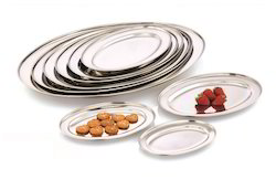 Stainless Steel Oval Platter Tray