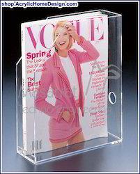 Acrylic - Magazine Holder