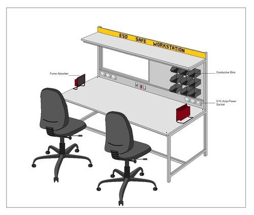 Static Mat For Office : Anti static products workstation