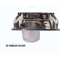 steel tumbler holder