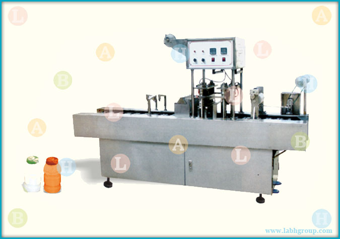 Automatic Bottle Filling and Foil Sealing Equipment