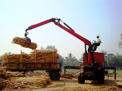 Epsilon Crane For Timber Log Handling
