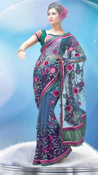 Floral Butta Saree